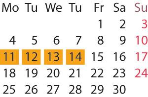 Kalender - dlg2018